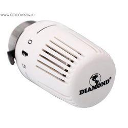 głowica termostatyczna CLASSIC Diamond biała - produkt z kategorii- Zawory i głowice