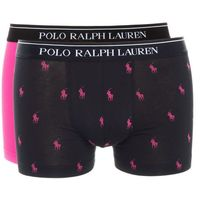 bokserki 2-pak czarny różowy l, Ralph lauren
