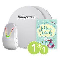 Monitor oddechu dla niemowląt BABYSENSE 7 + Album Twojego dziecka