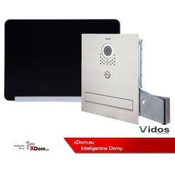 Zestaw s551-skm skrzynka na listy z wideodomofonem, monitor 7'' wideodomofonu m690bs2 marki Vidos