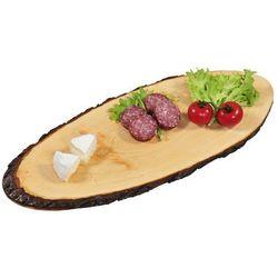 Kesper Ozdobna deska do krojenia z olchy, deska do krojenia, deska do serwowania, deska kuchenna, półmisek, akcesoria kuchenne,