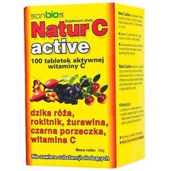 Natur C Active tabl. 0,2 g 100 tabl., postać leku: tabletki