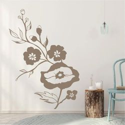Szablon malarski kwiaty 2113 marki Wally - piękno dekoracji