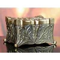 Szkatułka kuferek stare złoto - sprawdź w wybranym sklepie