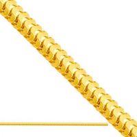 złoty łańcuszek fantazyjny Lv005