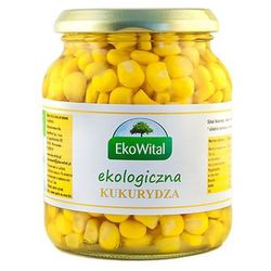 Kukurydza w zalewie BIO 350g/230g - Eko Wital (danie gotowe)