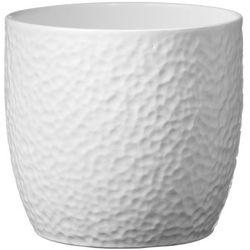 Sk soendgen keramik Osłonka doniczki boston śr. 19 cm biała (4006063252109)
