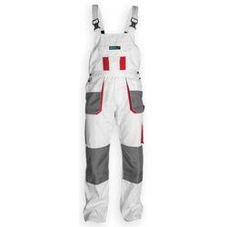 Dedra Spodnie robocze bh4so-l ogrodniczki biały (rozmiar l/52)