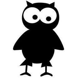 Szablon malarski z tworzywa, wielorazowy, wzór dla dzieci 15 - Mądra sowa