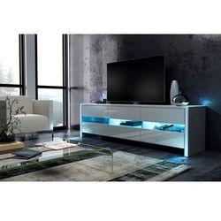 Szafka RTV DEX z oświetleniem LED 139/43/36 cm