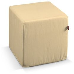 Dekoria  pufa kostka twarda, piaskowy, 40x40x40 cm, jupiter