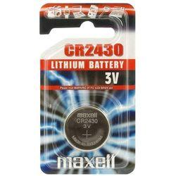 Bateria litowa  cr2430 - blister 1szt wyprodukowany przez Maxell