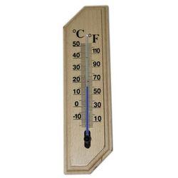 Termometr pokojowy drewniany mały od 0c do +50c marki Fungi-chem