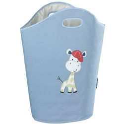 Torba na pranie, zabawki GERRY BLUE, motyw dziecięcy - 2w1, WENKO (4008838204863)