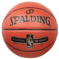 Spalding NBA PLATINUM LEGACY Piłka do koszykówki orange (4051309629917)