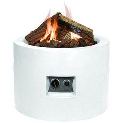 Palenisko gazowe okrągłe - białe od producenta Happy cocooning