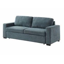 3-osobowa rozkładana sofa jimy z tkaniny – kolor szary marki Vente-unique