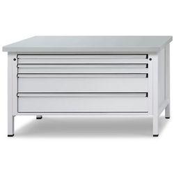 Stół warsztatowy z szufladami XL/XXL,szer. 1500 mm, 4 szuflady