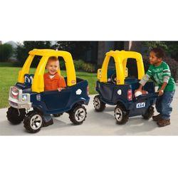 LT Samochód Jeździk Cozy Truck Żółto Czarny - produkt z kategorii- Jeździki