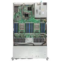 server system r1208wttgsr incl. server board s2600wtt 8x 2.5 zoll hot-swap 750w ac power supply marki Intel