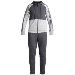 adidas Performance ENERGIZE Dres dark grey heather/medium grey heather, materiał bawełna||poliester, szary