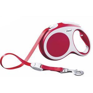 Flexi Vario Smycz taśma L 8m czerwona [FL-0210] (4000498020210)