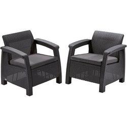 Zestaw krzeseł technorattanowych Corfu Duo, 223175 (11880100)