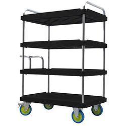 A&a logistik-equipment Wózek piętrowy do dużych obciążeń, dł. x szer. 1200x800 mm, nośność 1000 kg, cza