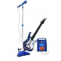 Gitara elektryczna + mikrofon + wzmacniacz nieb izimarket.pl marki Iso trade