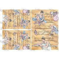Papier ryżowy  35x50 cm - 5061 marki Decomania
