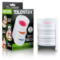 Spersonalizowany masturbator - Zolo Stax Mix N Match Masturbator Trzy wkładki