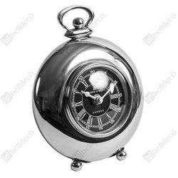 Belldeco Zegar stojący gabinet c534318 okrągły srebrny