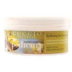 Cuccio  leczniczy krem nawilżający pięty - mocznik i olejek arganowy 453g, kategoria: kremy do stóp