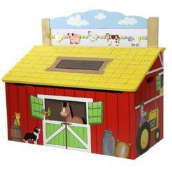 Happy Farm Skrzynia na zabawki - DARMOWA DOSTAWA!, kup u jednego z partnerów