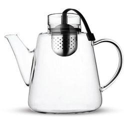 Zaparzacz do herbaty amo 1.5l czarny marki Vialli design