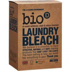 Bio-D Laundry Bleach - Odplamiacz, Wybielacz, Eliminator Zapachów, 400g (wybielacz i odplamiacz do ubrań)