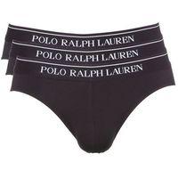 Ralph Lauren Slipy 3-pak Czarny S