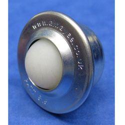 Unbekannt Standardowa rolka kulowa, z kulką z tworzywa, Ø kulki 30 mm, nośność użytkowa ku