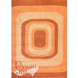 Dywan sun carving top łososiowy/żółty 120x170 prostokąt marki Dywanstyl.pl