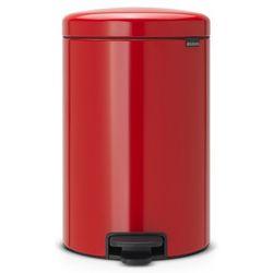 Kosz łazienkowy Brabantia newIcon 20l passion red