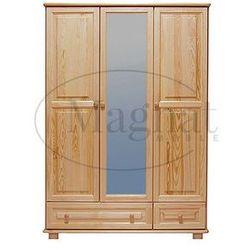 Szafa sosnowa 3d nr5 s133 marki Magnat - producent mebli drewnianych i materacy
