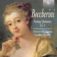 Brilliant classics Boccherini: string quintets op. 29, vol. x