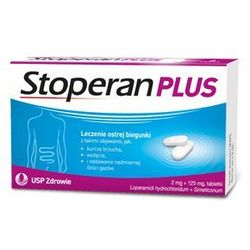 STOPERAN PLUS x 6 tabletek