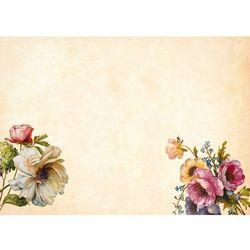 Wally - piękno dekoracji Tablica magnetyczna suchościeralna kwiaty 403