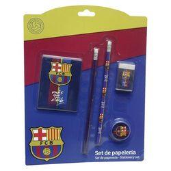 FC Barcelona, zestaw piśmienniczy, 5 elementów z kategorii Pozostałe artykuły szkolne i plastyczne