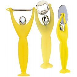 - gym zestaw 3 przyborów - żółty marki Casa bugatti