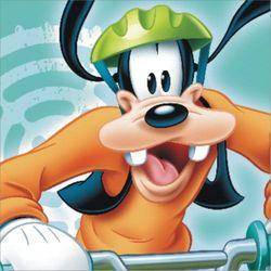 Obraz na płótnie disney goofy (23 x 23) marki Disney - dekoracje pokoju