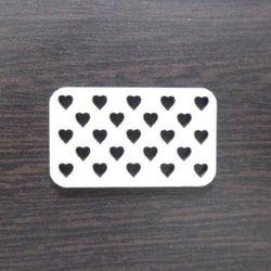 Tabliczka z serduszkami - 02 marki Eko deco
