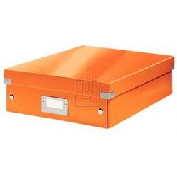 Pudło leitz wow c&s z przegródkami średnie pomarańczowe 60580044 marki Esselte