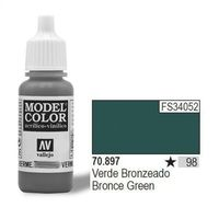 farba nr98 bronze green 17ml matt od producenta Vallejo